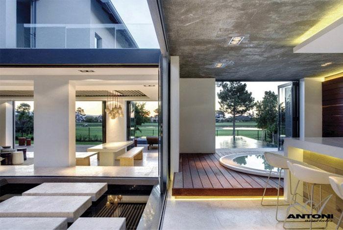 luxury residence interior