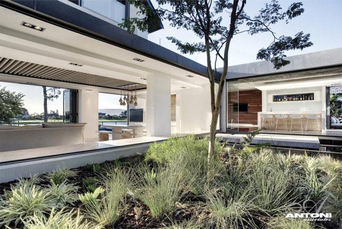 luxury residence outdoor
