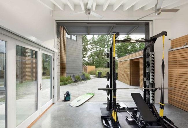Using your cellar as a gym interiorzine