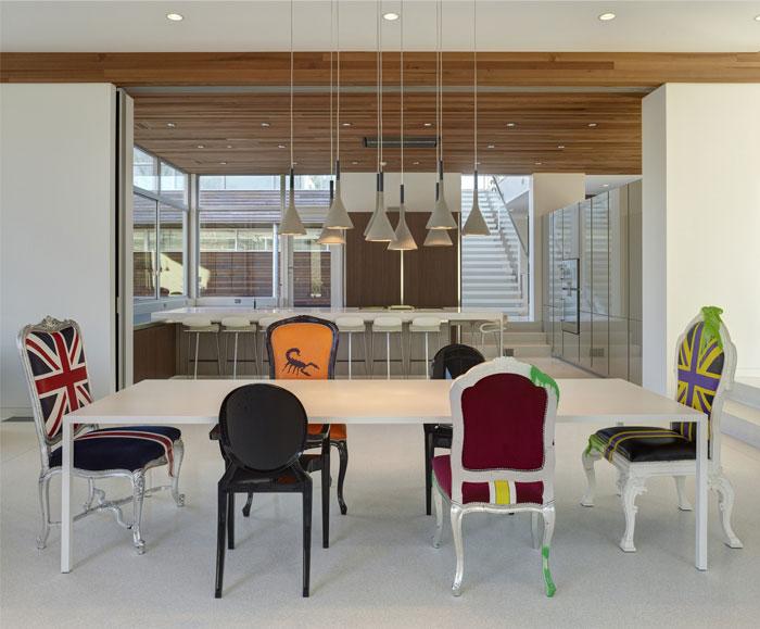 modern lifestyle family residence living area