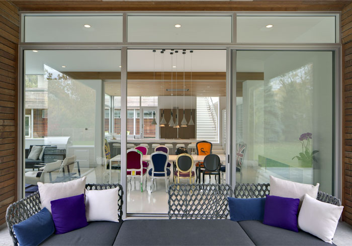 modern lifestyle family residence outdoor