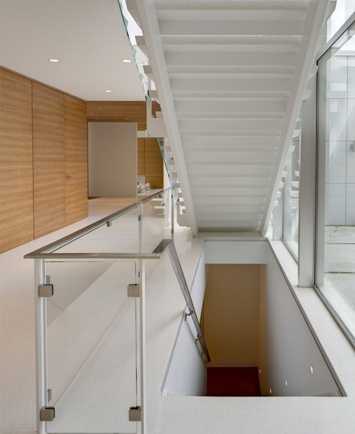 modern lifestyle family residence staircase