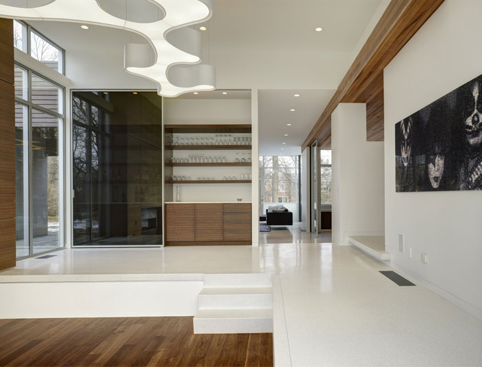 modern lifestyle family residence