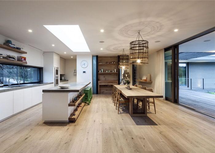 contemporary residence interior design