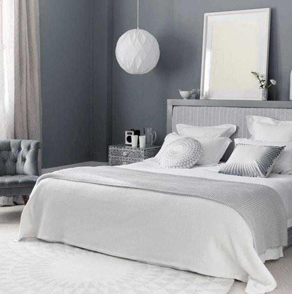 bedroom decor grey