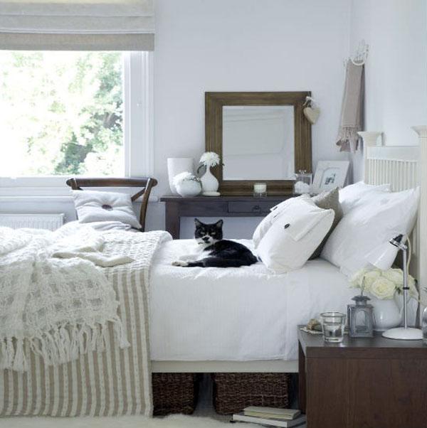 neutral colour scheme bedroom decor