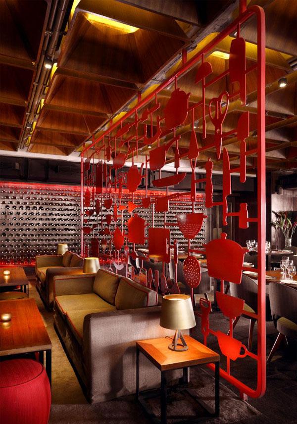 restaurant amazing red decor2