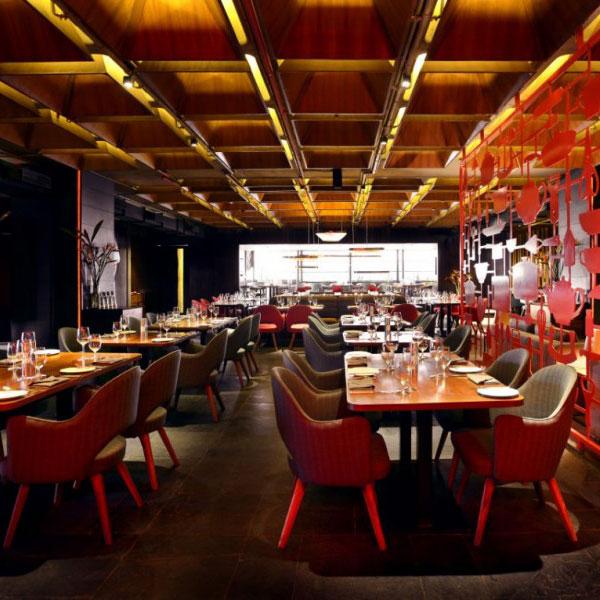 restaurant amazing red decor6