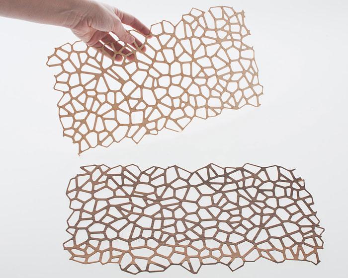 wooden mesh