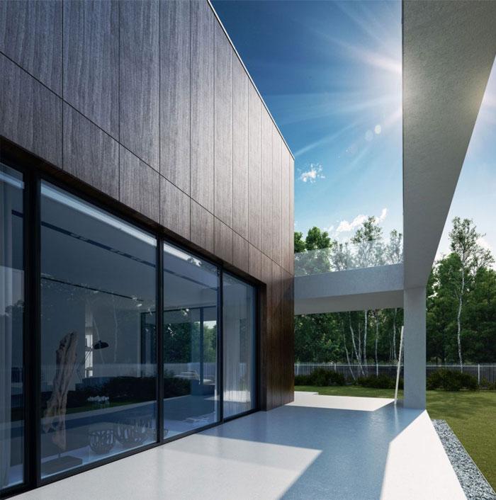 glass wood house5