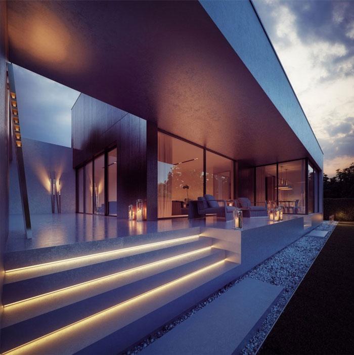 glass wood house7
