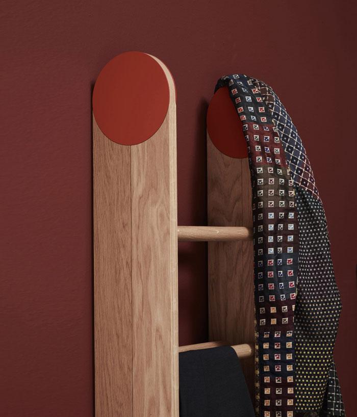 natural oak clothes rack1