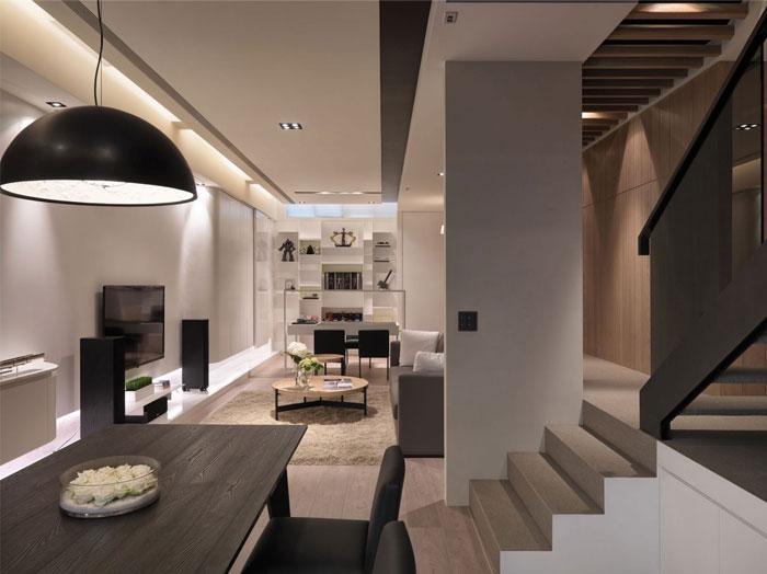 unique modern contemporary apartment5