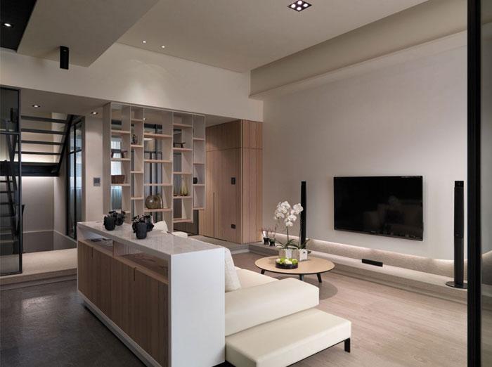 unique modern contemporary apartment9