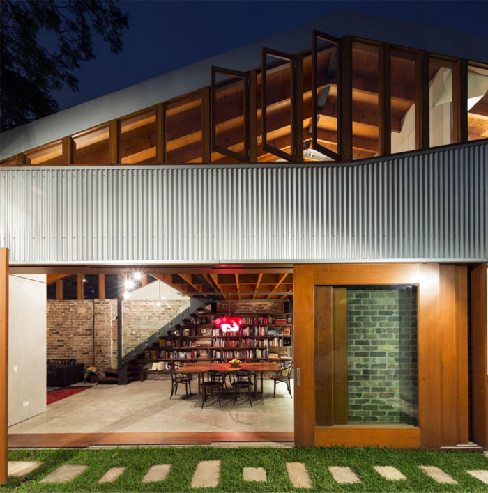 charm eclectic cowshed house5