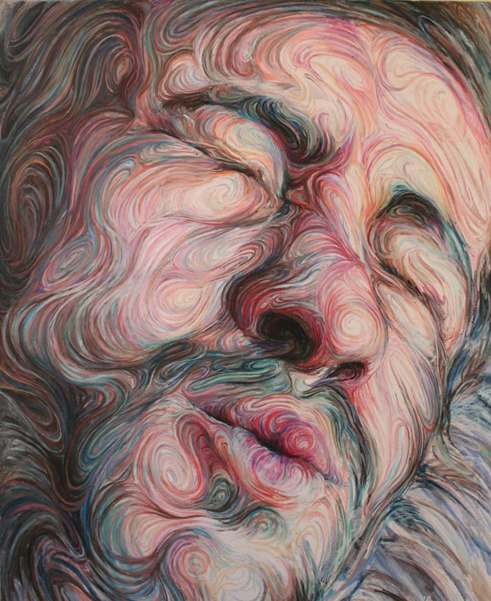 self portraits energetic paintings1