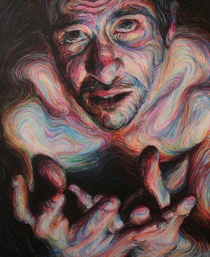 self portraits energetic paintings3