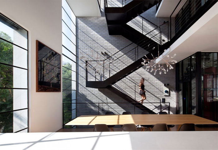 interior large metal staircase8