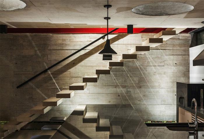 brazilian residence concrete walls12