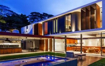 brazilian residence concrete walls5 338x212