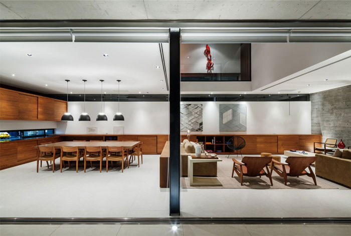 brazilian residence concrete walls9