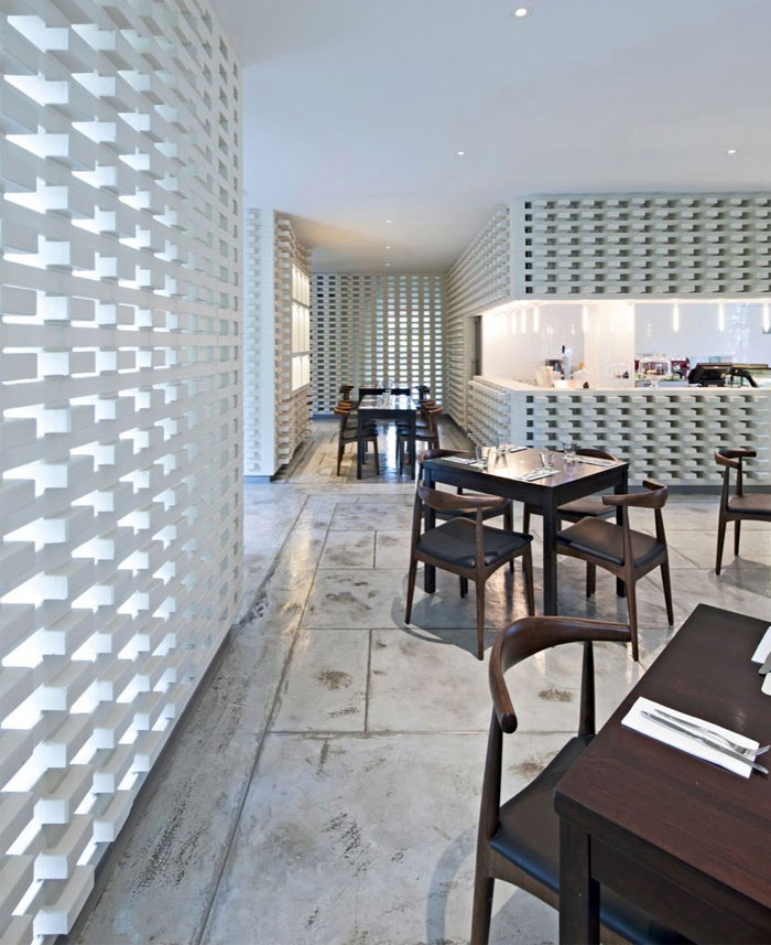 dramatic interior wrapper painted white brick5