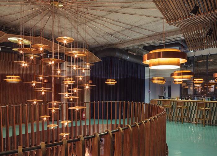 Club Recalling A 60 S Audition Hall Interiorzine