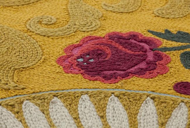patterned handmade wool rug3