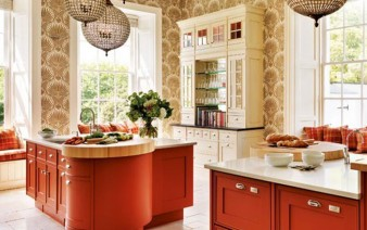 choosing new kitchen red kitchen cabinets 338x212