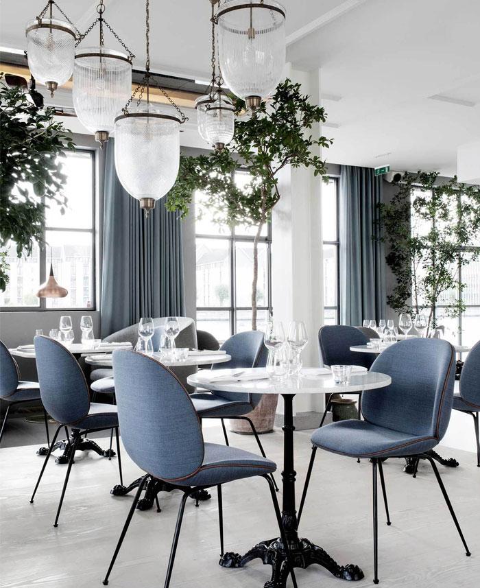 Modern Nordic Restaurant Decor - InteriorZine