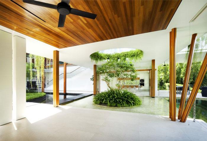 house beautiful garden pool 3
