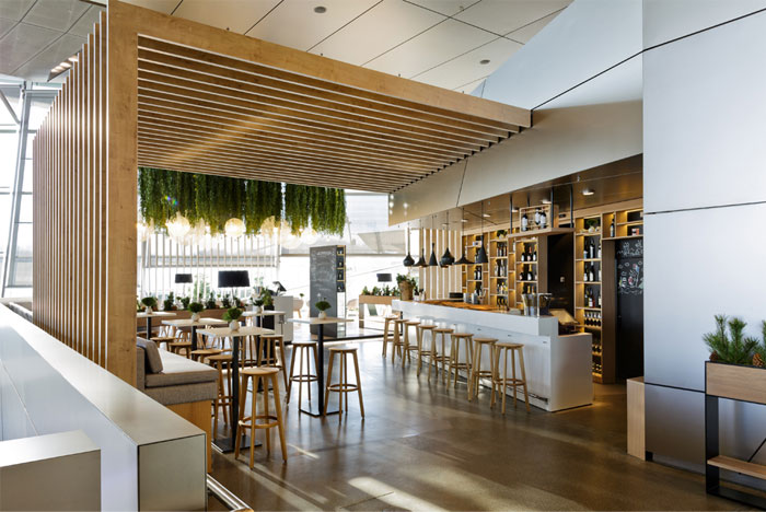 restaurant interior elegant dining room