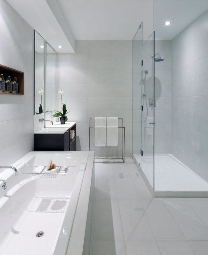 shower-enclosed-clear-translucent-glass