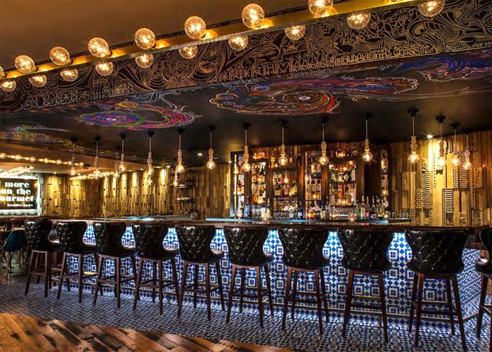 bar interior decor