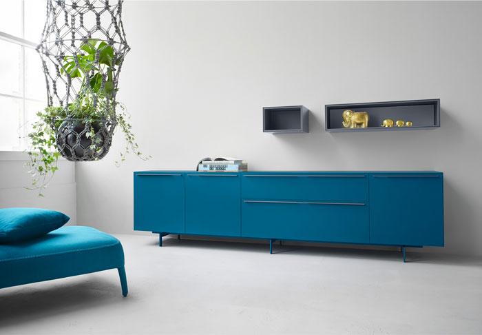 elegant modular shelves
