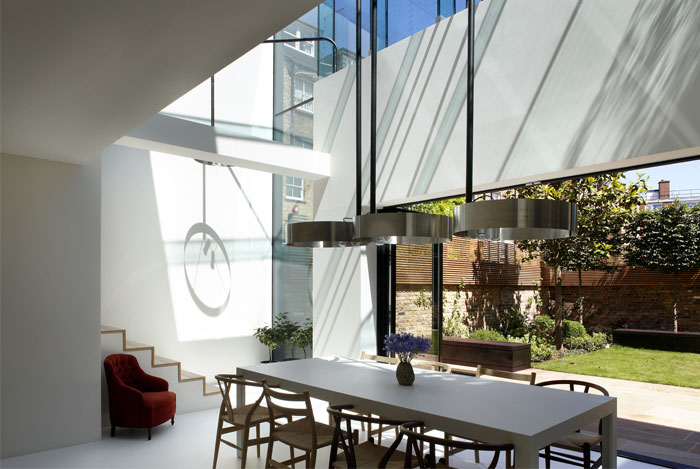overall structure modern home