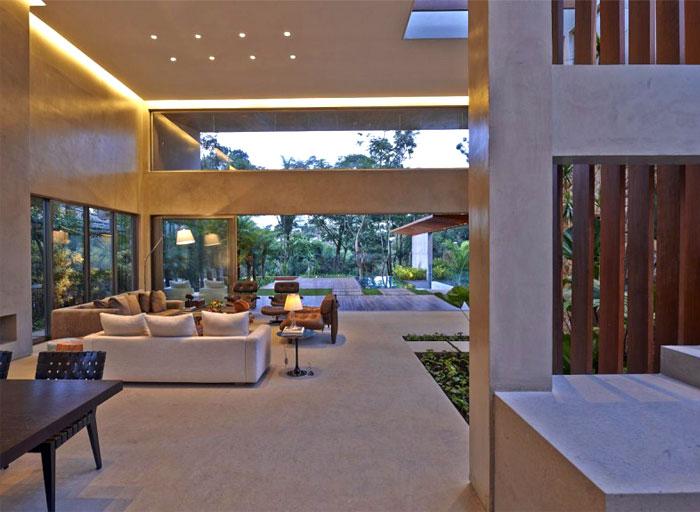 beautiful residence concrete stears