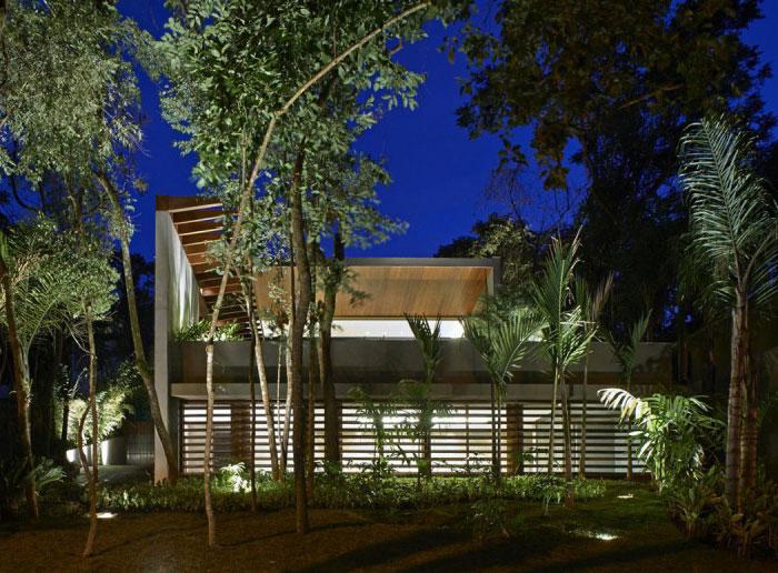 beautiful residence outdoor garden