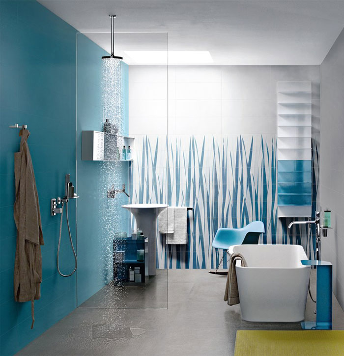 blue colored wall tiles 1