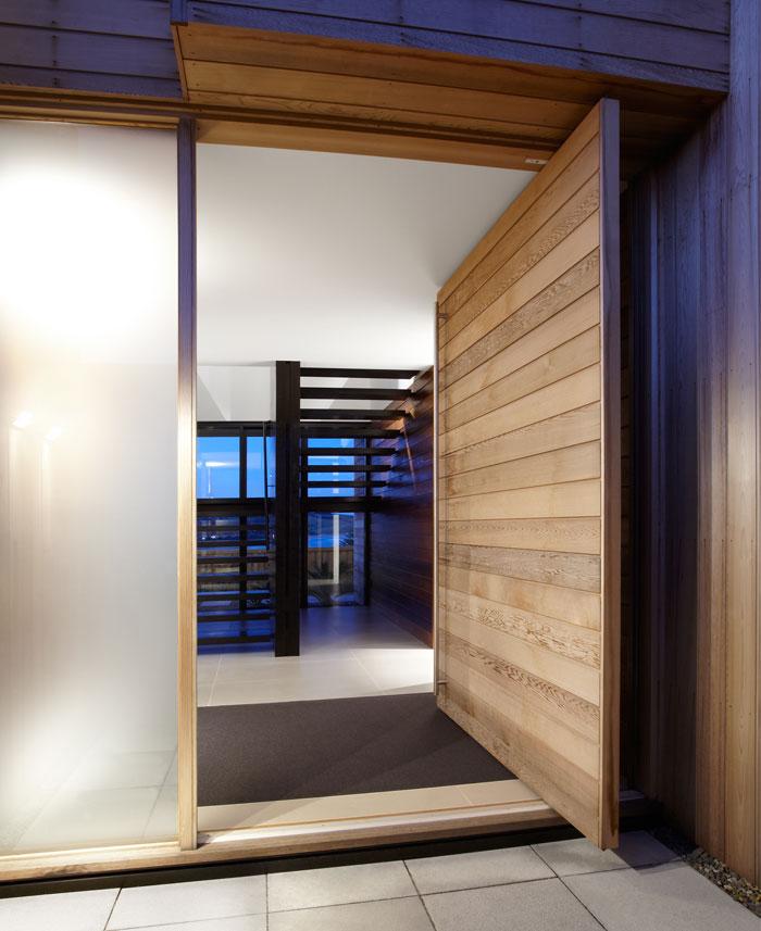 cedar cladded house 1