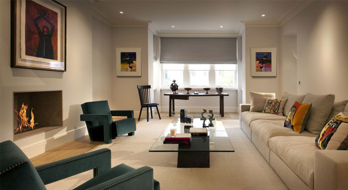 elegant modern living space