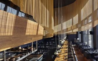 golden colour restaurant decor 338x212