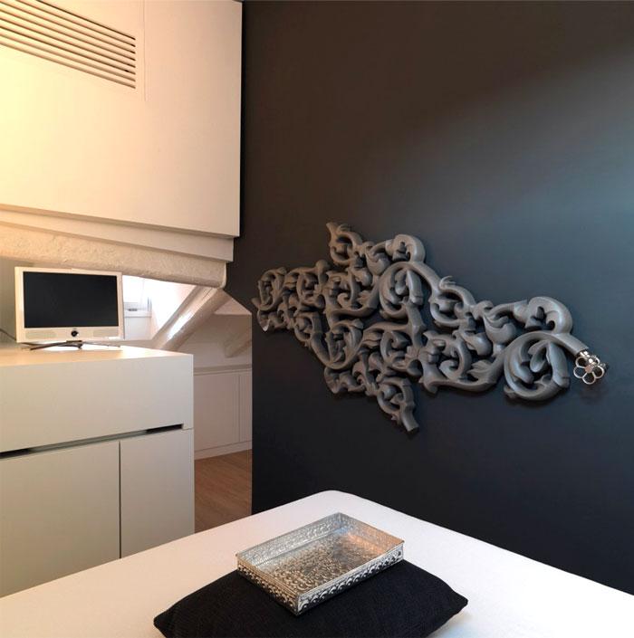 heat wave radiator bedroom interior