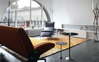 mezzanine level apartment living room interior 338x212