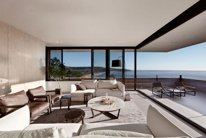 natural materials colors living room