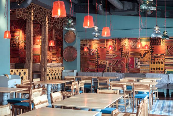 ottoman decor dining area