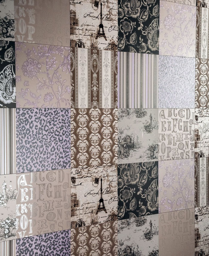 patchwork wall tiles