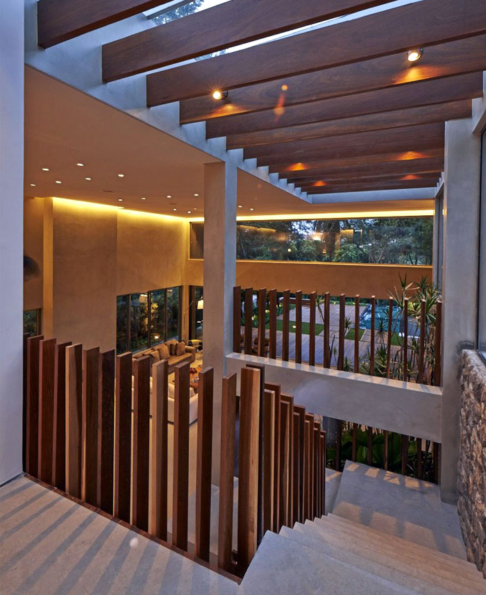 residence concrete stears