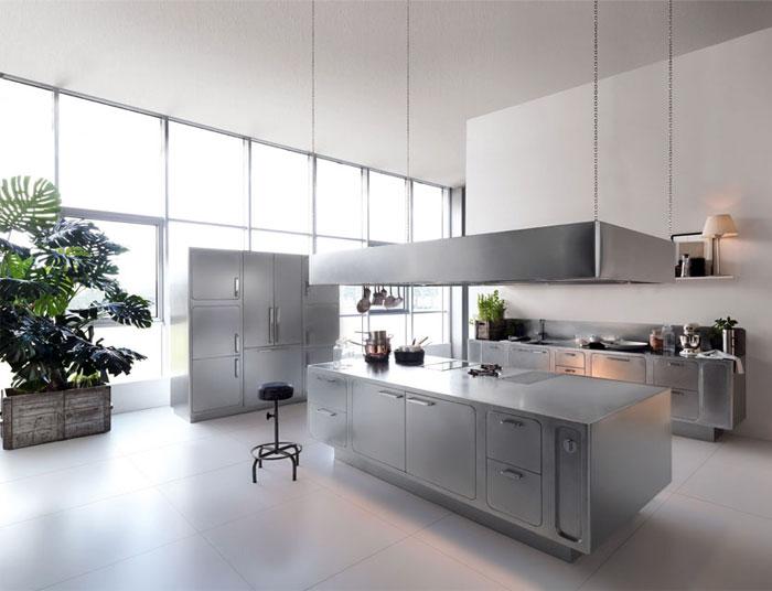 stainless steel kitchen abimis