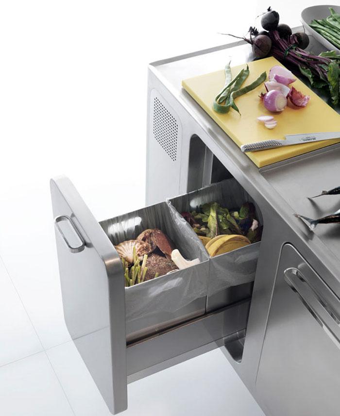 stainless steel kitchen appliance